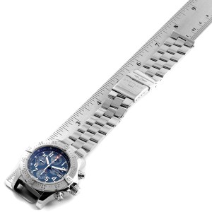 Breitling Avenger Skyland Blue Dial Mens Watch A13380 Box Papers