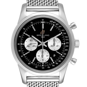 Breitling Transocean Chronograph LE Mens Watch AB0151 Box Papers