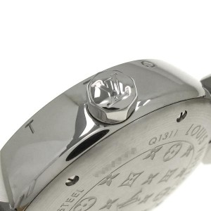 Louis Vuitton Tambour Q1311 Stainless Steel 34mm Womens Watch