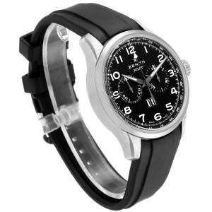 Zenith Pilot Big Date Chronograph Steel Mens Watch