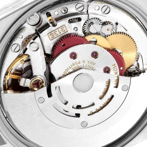 Rolex Date Black Dial Oyster Bracelet Steel Mens Watch 15200