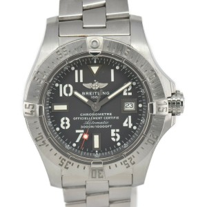 BREITLING Avenger A17330 Gray Dial Automatic Men's Watch