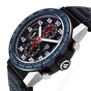 Tag Heuer Carrera Red Bull Racing Steel PVD Mens Watch CAR2A1N Box Card