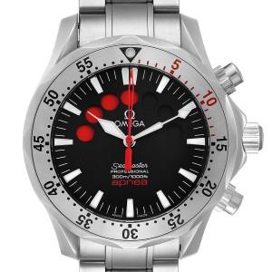 Omega Seamaster Apnea Jacques Mayol Black Dial Mens Watch 2595.50.00
