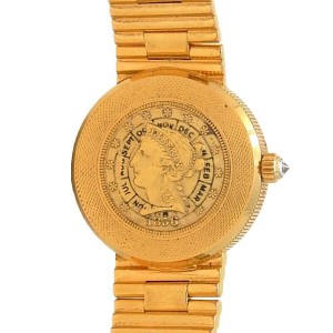Corum Gold Coin Eagle 5068556V041 24mm Womens Watch