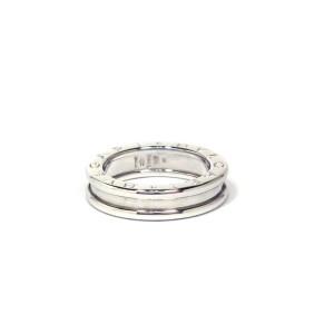 Bulgari B.zero1 18K White Gold Ring Size 5