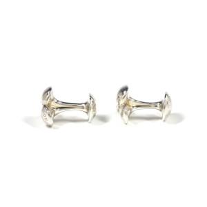 Louis Vuitton Boutons De Manchette 925 Sterling Silver Cufflinks