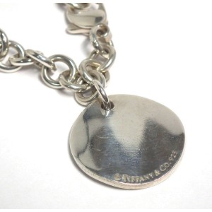 Tiffany & Co. Notes 925 Sterling Silver Tag Bracelet
