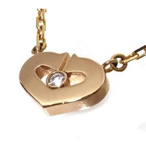 Cartier C de Cartier Necklace 18K Rose Gold Diamond