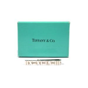 Tiffany & Co. Atlas Sterling Silver Tie Clasp