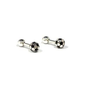 Tiffany & Co. Sterling Silver Onyx Cufflinks