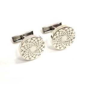 Bulgari 925 Sterling Silver Cufflinks