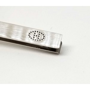 Hermes Sterling Silver Tie Clasp
