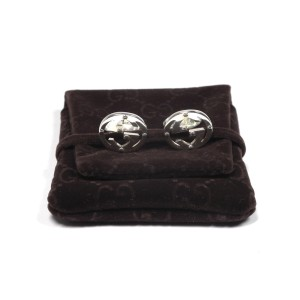 Gucci Sterling Silver Cufflinks