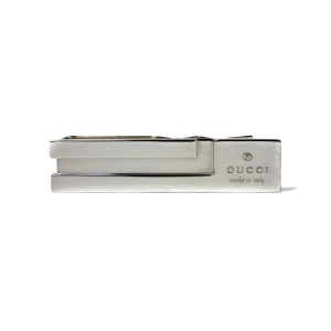 Gucci 925 Sterling Silver Tie Bar