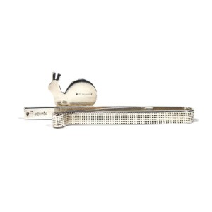 Hermes 925 Sterling Silver Tie Bar