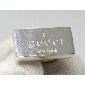 Gucci 925 Sterling Silver Cufflinks