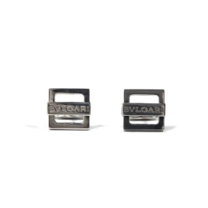 Bulgari 925 Sterling Silver Cufflinks