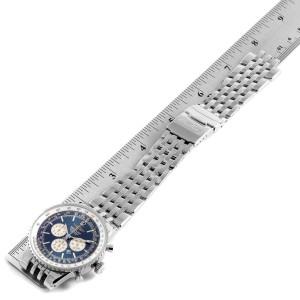 Breitling Navitimer Heritage Blue Dial Automatic Mens Watch A35340