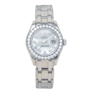Rolex Datejust Pearlmaster 80299 29mm Womens Watch