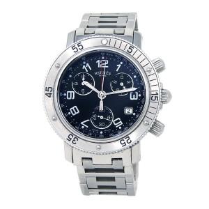 Hermes Clipper Diver Stainless Steel Quartz Men's Watch CL2.910
