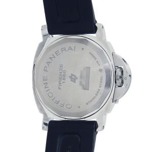 Panerai Historic Luminor Base Logo Stainless Steel Mechanical Men Watch PAM00000
