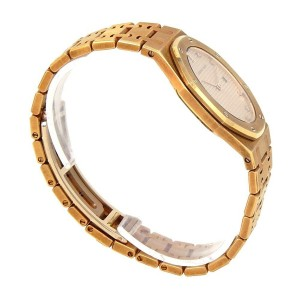 Audemars Piguet Royal Oak 18k Yellow Gold Swiss Quartz Ladies Watch