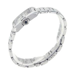 Cartier Tank Anglaise 18k White Gold Swiss Quartz Ladies Watch W5310023