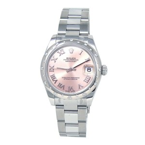 Rolex Datejust Stainless Steel Automatic Mid-Size Watch 178344