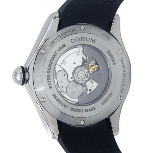 Corum Big Bubble Magical Pop de la Nuez Titanium Automatic Mens Watch L390/03635