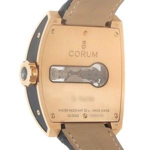 Corum Golden Bridge Tourbillon 18k Rose Gold Skeleton Watch 022.702.55/0F81 0000
