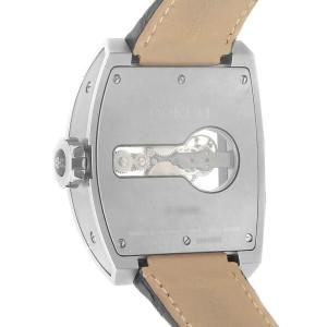 Corum Ti-Bridge Tourbillon Titanium Leather Skeleton Watch 022.700.04/0F01 0000