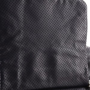 Chanel Drill Accordion Flap Bag Perforated Leather Large