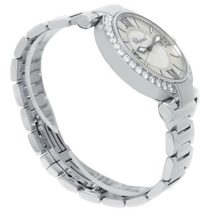 Chopard Imperiale Stainless Steel Automatic Diamonds Ladies Watch 388531-3004