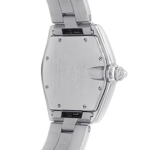 Cartier Roadster Stainless Steel Automatic Silver Grey Men's Watch