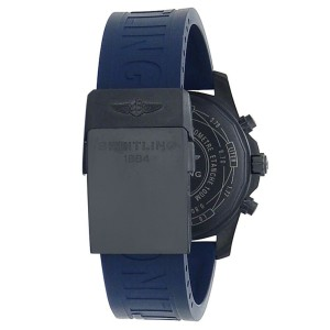 Breitling Chronospace Evo Night Mission Titanium Quartz Blue Men's Watch V73330