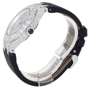 Audemars Piguet Royal Oak Lady Gold Diamonds Dark MOP Watch 67607BC.ZZ.D001SU.01