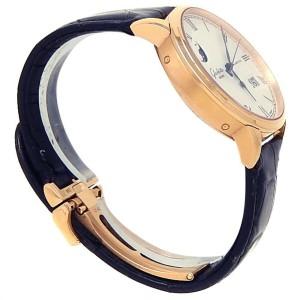 Glashutte Original Senator Panorama Rose Gold Silver Men's Watch 100-04-32-15-04