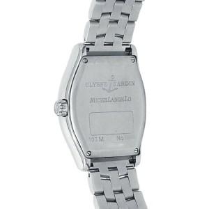 Ulysse Nardin Michelangelo Stainless Steel Automatic Black Men's Watch 233-68