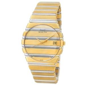 Piaget Polo 18k Yellow Gold 18k White Gold Quartz Men's Watch