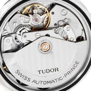 Tudor Prince Oysterdate Black Dial Chronograph Mens Watch 79180