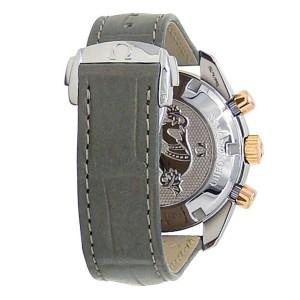 Omega Speedmaster Stainless Steel Diamonds Grey Ladies Watch 324.28.38.40.06.001