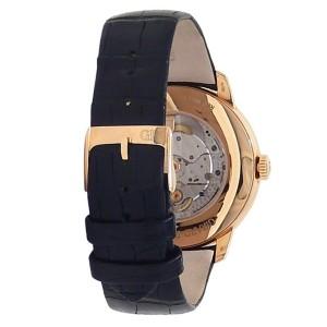 Girard Perregaux 1966 18k Rose Gold Automatic White Mens Watch