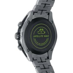 Citizen Eco-Drive Satellite Wave Titanium Quartz Black Men's Watch CC1055-53E