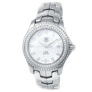 Tag Heuer Link Stainless Steel Diamond Mother of Pearl Men's Watch WJ111B.BA0575