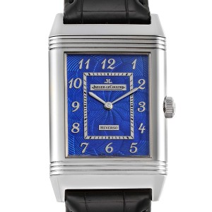 Jaeger LeCoultre Grande Reverso White Gold Limited Watch 273.3.62 Box Card