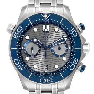 Omega Seamaster 44 Chronograph Mens Watch 210.30.44.51.06.001 Unworn