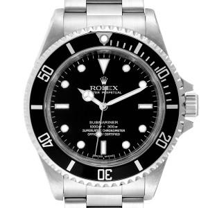 Rolex Submariner 40mm Non-Date 4 Liner Steel Steel Mens Watch 14060