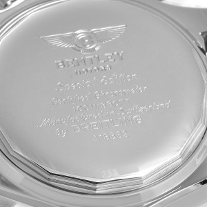 Breitling Bentley Motors GT Special Edition Mens Watch A13362 Box Card