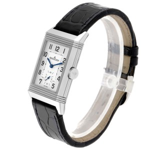 Jaeger LeCoultre Reverso Classic Mens Watch 214.8.62 Q3858520 Box Papers